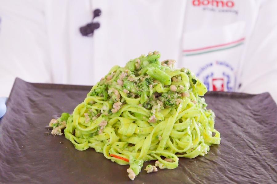 Ricetta tagliatelle salsiccia e broccoli